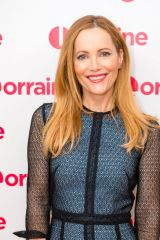 Leslie Mann At 'Lorraine' TV show, London