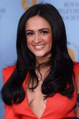 Amy-Leigh Hickman At RTS Programme Awards, Grosvenor House, London