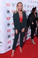 Chloe Meadows Attends the OK! Magazine's 25th anniversary party at The Shard in London