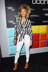 Jena Frumes At boohoo Hosts 'The Zendaya Edit' Block Party, Los Angeles