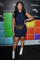 Jordyn Woods At boohoo Hosts 'The Zendaya Edit' Block Party, Los Angeles