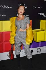 Nathalie Paris At boohoo Hosts 'The Zendaya Edit' Block Party, Los Angeles