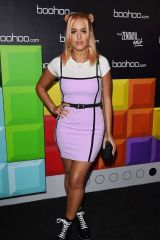 Lottie Tomlinson At boohoo Hosts 'The Zendaya Edit' Block Party, Los Angeles