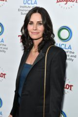 Courteney Cox At UCLA's Institute of the Environment and Sustainability Gala in Beverly Hills