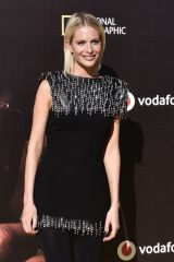 Poppy Delevingne At the world premiere of Genius Picasso in Malaga