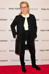 Meryl Streep At A Special Screening of Final Portrait, New York