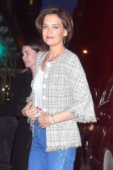 Katie Holmes Looks stylish as she arrives for an event in NYC