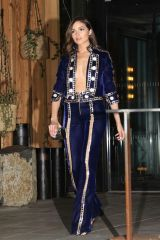Olivia Culpo Arrives for Gigi Hadid's 23rd birthday party at the One Hotel in Brooklyn