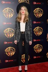 Amber Heard At Warner Bros. Pictures 'The Big Picture' presentation during CinemaCon 2018 in Las Vegas
