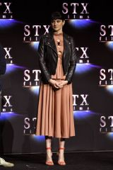 Shailene Woodley At An Evening with STXfilms presentation at CinemaCon in Las Vegas, Nevada
