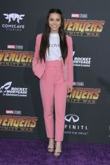 Sky Katz At 'Avengers: Infinity War' premiere at El Capitan Theatre in Los Angeles