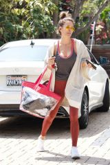Brooke Burke Seen after working out in the gym in Brentwood
