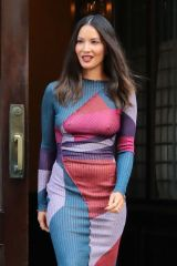 Olivia Munn As she leaves her hotel braless in NYC