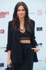 Emily Blackwell At World Premiere of Bromley Boys held at Wembley Stadium, London