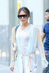 Victoria Beckham Leaves her New York hotel