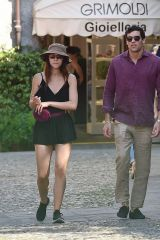 Aurora Ramazzotti Out with her boyfriend in Portofino, Italy