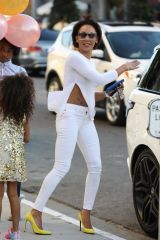 Melanie Janine Brown Celebrate's her daughter Angel Iris' birthday at a private party in West Hollywood
