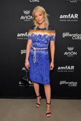 Pom Klementieff At amfAR GenCure Solstice 2018 in NYC