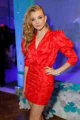 Natalie Dormer At Launch of the Tiffany Paper Flower collection, London