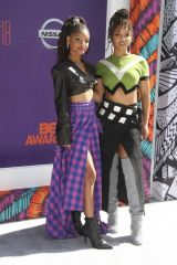 Chloe & Halle Bailey At 2018 BET Awards at the Microsoft Theater in Los Angeles