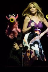 Kylie Minogue At The Muppets take The O2 in London