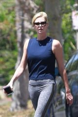Charlize Theron Out and about in Los Angeles