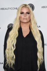 Jessica Simpson At Los Angeles Beautycon Festival, Day 1 in LA