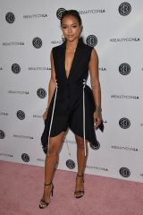 Karrueche Tran At Los Angeles Beautycon Festival, Day 1 in LA