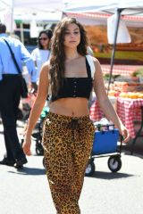 Kira Kosarin At the farmers market in Los Angeles