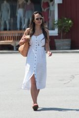 Jordana Brewster Spotted Picking Up Some Iced Coffee in Los Angeles