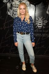 Lucy Fallon At the IL Sarto Mens Wear Clothing Launch at The Couture Store in The Intu Trafford Centre in Manchester