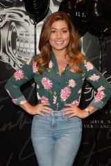 Nikki Sanderson At the IL Sarto Mens Wear Clothing Launch at The Couture Store in The Intu Trafford Centre in Manchester