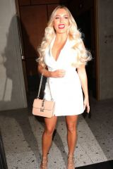 Amber Turner At the ITV summer party, held at Nobu Shoreditch restaurant in London