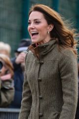 Kate Middleton Visits the King Henry's Walk Garden in Islington