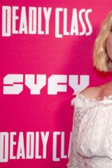 Harly Quinn Smith At Premiere Week Screening of SYFY's ''Deadly Class'' in Los Angeles