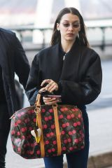 Bella Hadid Spotted at Milan airport