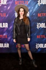 Ruby O. Fee At New York special screening of the Netflix film 'POLAR'