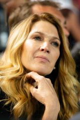 Steffi Graf In the box of Grigor Dimitrov at the Australian Open 2019 in Melbourne