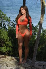 Demi Rose At Photoshoot In Tulum