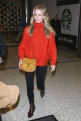 Annabelle Wallis At LAX airport in Los Angeles