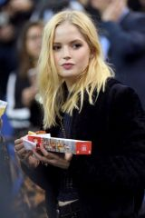 Ellie Bamber At NBA London Game 2019 at O2 Arena in London