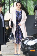 Camilla Belle Leaving the Bel Air Hotel in LA