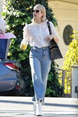 Emma Roberts Steps out for a cool drink in West Hollywood