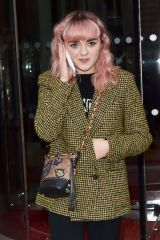 Maisie Williams At the Royal Monceau hotel in Paris