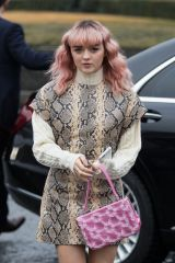 Maisie Williams At Kenzo Fashion show in Paris