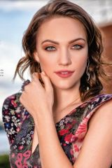 Violett Beane - resident magazine winter issue - january 2019