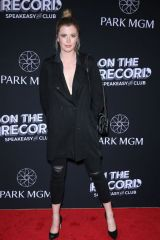 Ireland Baldwin On The Record Grand Opening Red Carpet at Park MGM in Las Vegas