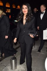 Salma Hayek At the Boucheron Cocktail Party in Paris