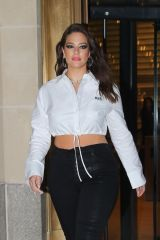 "Ashley Graham Leaves the Hearst building after a screening of ""American Beauty Star"" in NY"