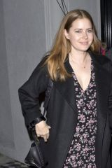 Amy Adams Leaving Craigs Restaurant in West Hollywood